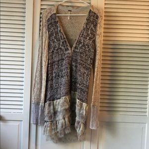 Free People Delicate Cardigan